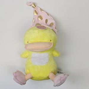 Grasslands Road Newborn hat with plush duck